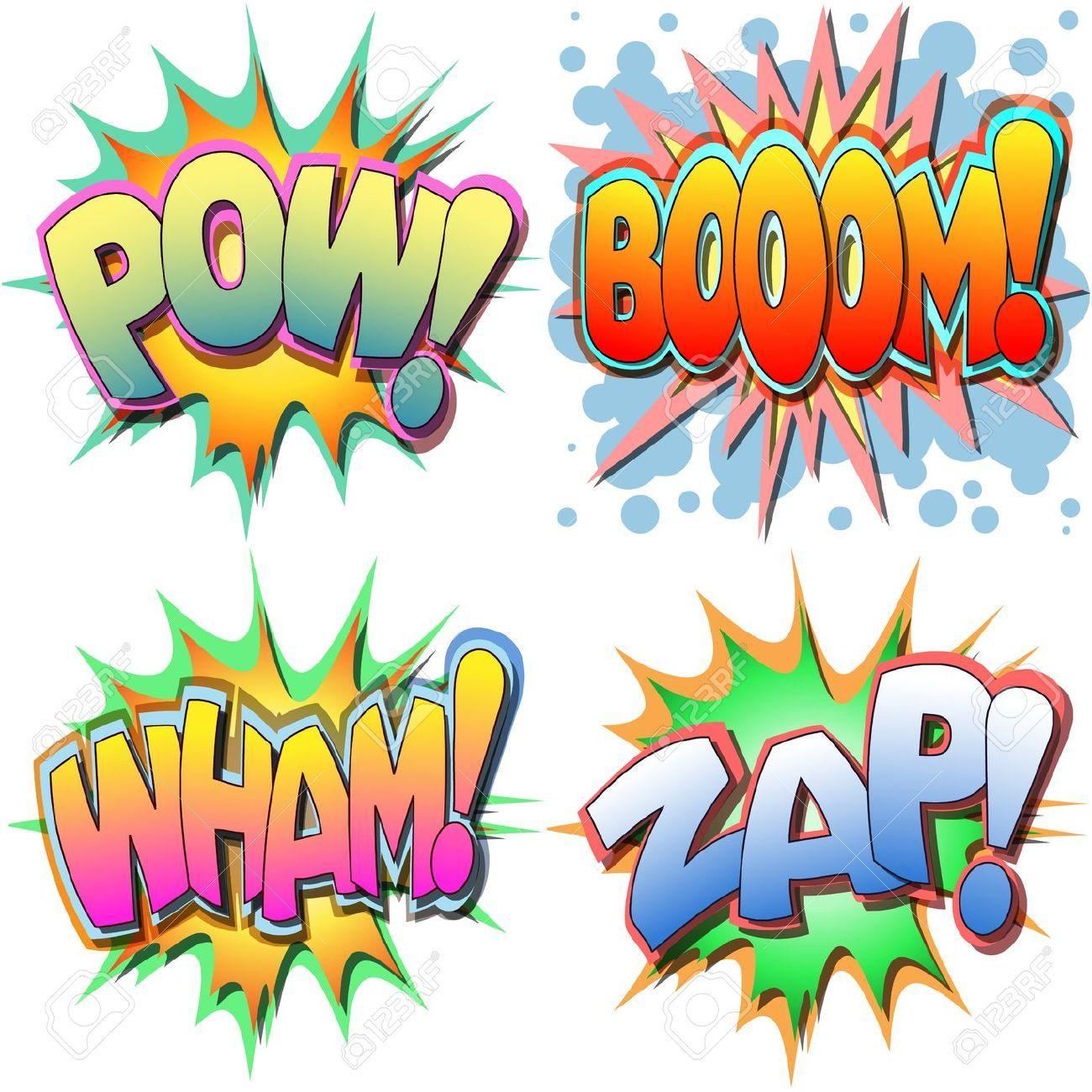 pow bang boom printables - Buscar - 227.1KB