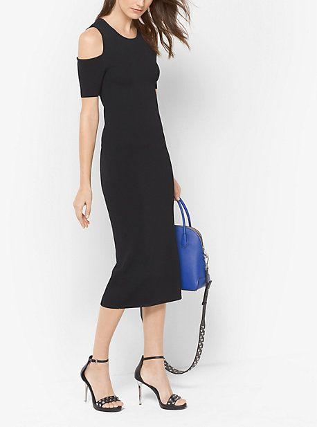 048ded14dafb Peekaboo Stretch-Viscose Midi Dress | Products | Dresses, Floral ...