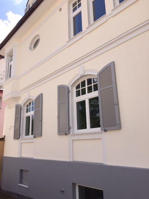 Referenzen Rolladen Bauer Stuttgart Klappladen Fensterladen