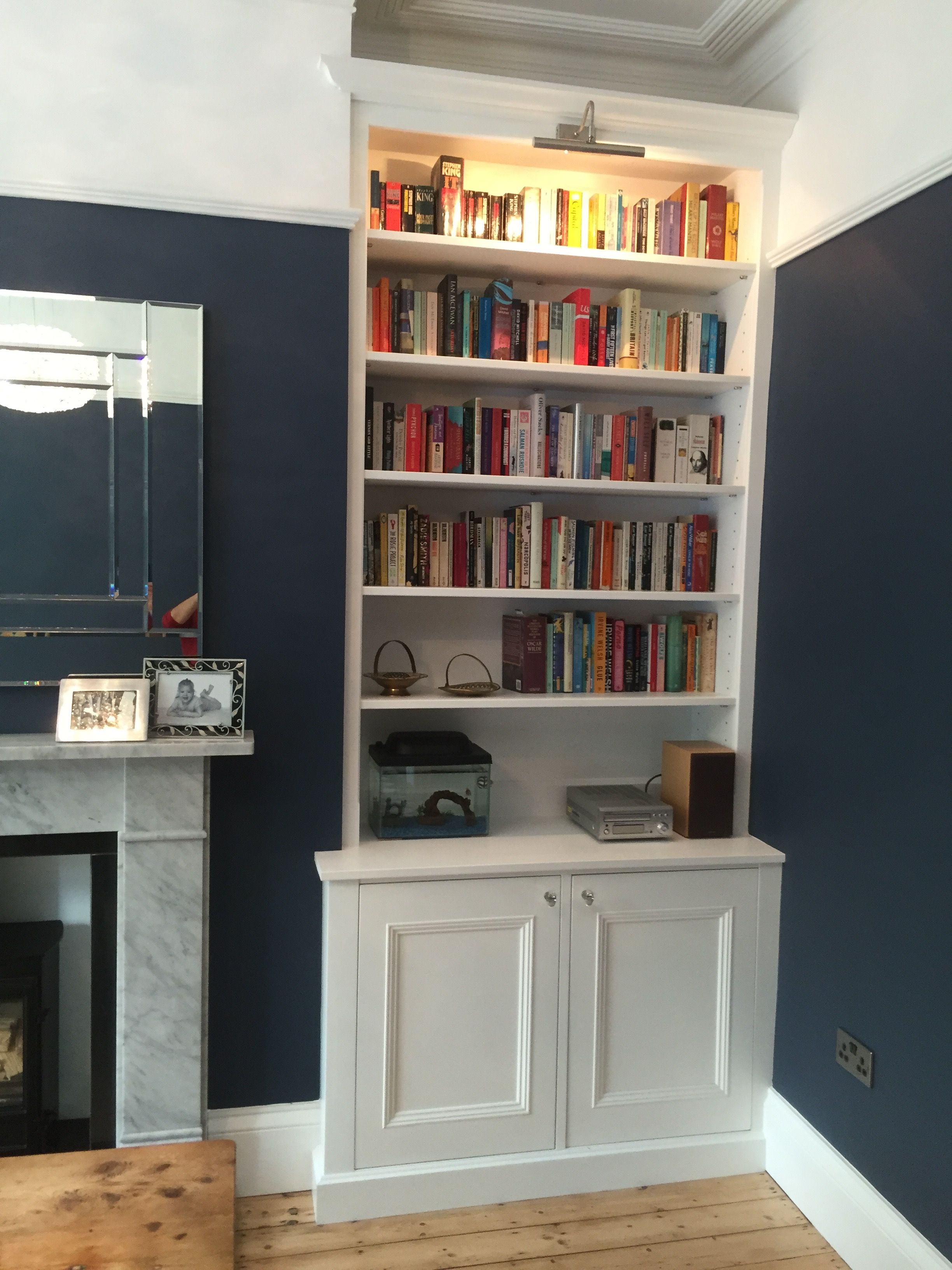 Living Room FurnitureFitted Alcoves Alcove Cabinets Handmade Bespoke Cabinet Fitted In
