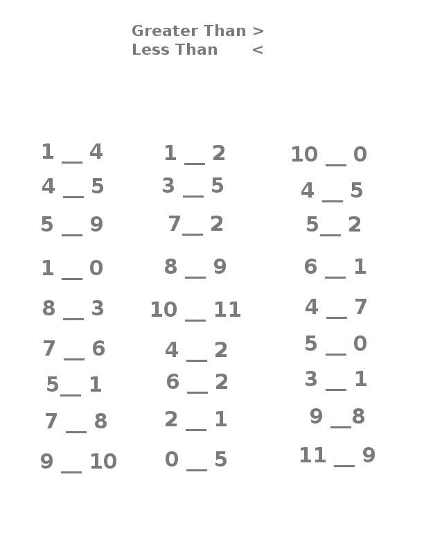 Greater Than Less Than Easy Beginner Worksheet Math Worksheets Printable Math Worksheets 2nd Grade Math Worksheets
