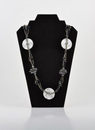 Black & Grey Elements Necklace