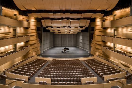 California State University Northridge Hga Performing Arts Center Auditorium Architecture Performance Art