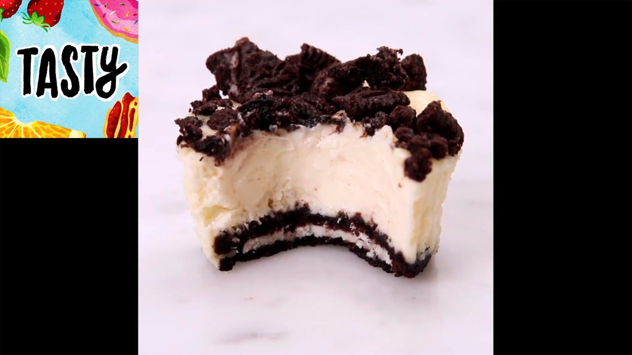 Mini Oreo Cheesecakes Learn how to make Mini Oreo Cheesecakes Also