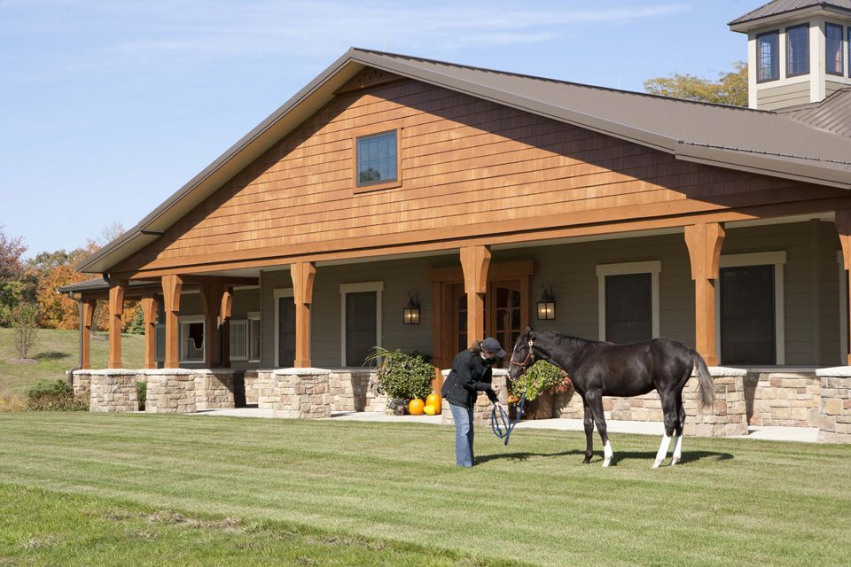 Morton Buildings Horse Barn In Illinois Equestrian