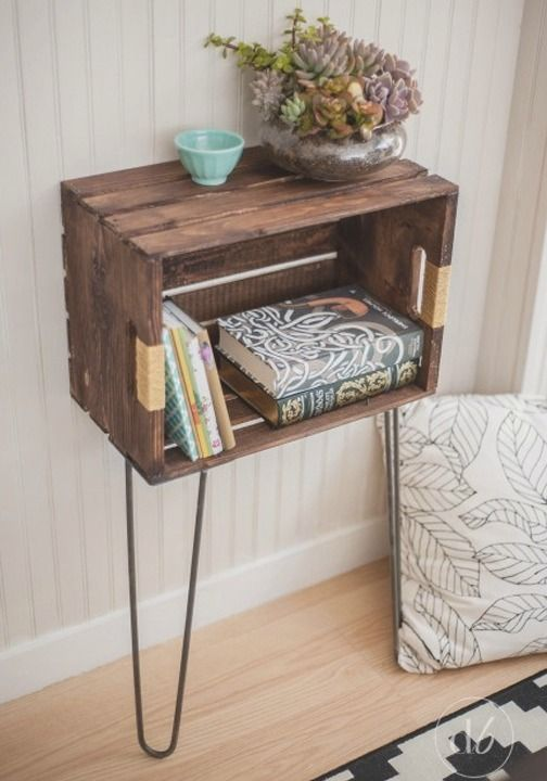Revamp your home decor this spring with a simple DIY crate project.