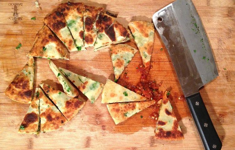 Green Onion Cakes - Edmonton's secret no more. — Feisty Chef