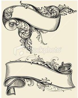 Pingl par leonardo torres sur aaa lino cut pinterest - Dessin banderole ...