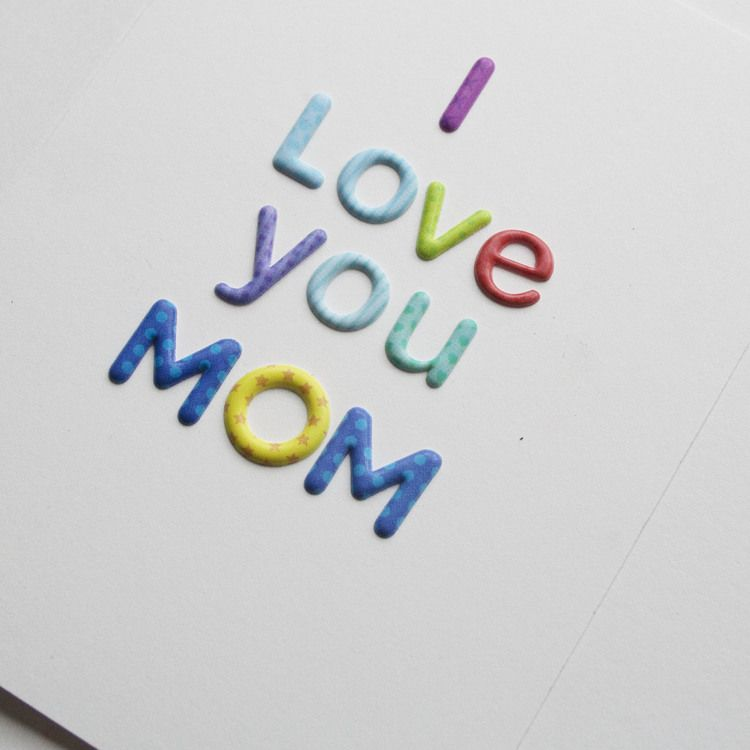 DIY Crafted Mother's Day Card — One Strange Bird