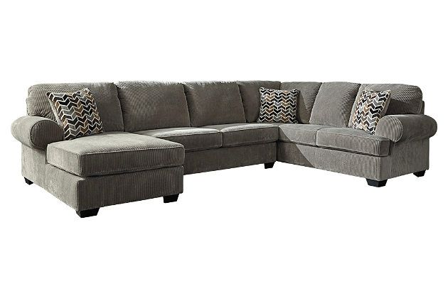 Jinllingsly 3 Piece Sectional With Chaise 3 Piece