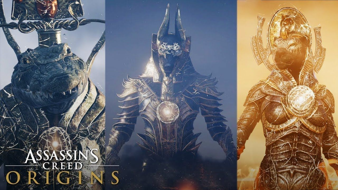 All God Boss Fights Best Anubis Outfit All Trials Assassins