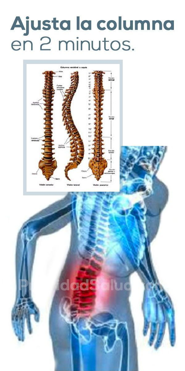 Como Enderezar La Columna Vertebral En 2 Minutos Columna Desviada Escoliosis Columna Vertebral Espina Dorsal Health Tips Frankincense Oil Uses Body Health