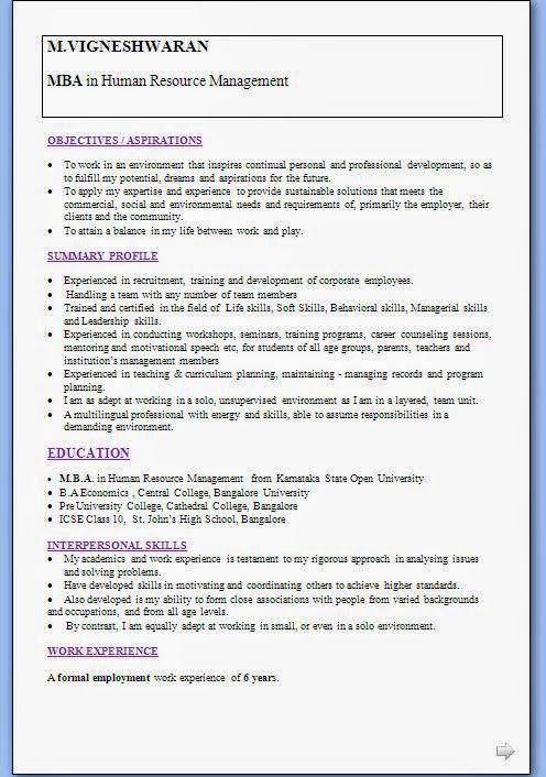 biodata format doc free download Beautiful Excellent Professional - career objective for resume for mba