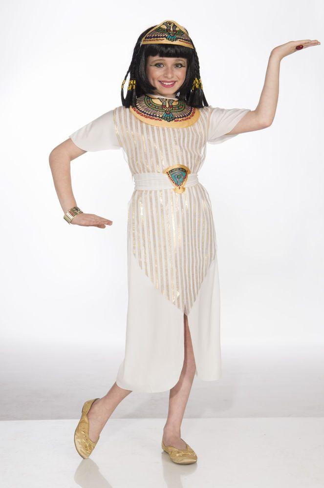 Child Cleopatra Egyptian Princess Queen Costume Halloween #CompleteCostume
