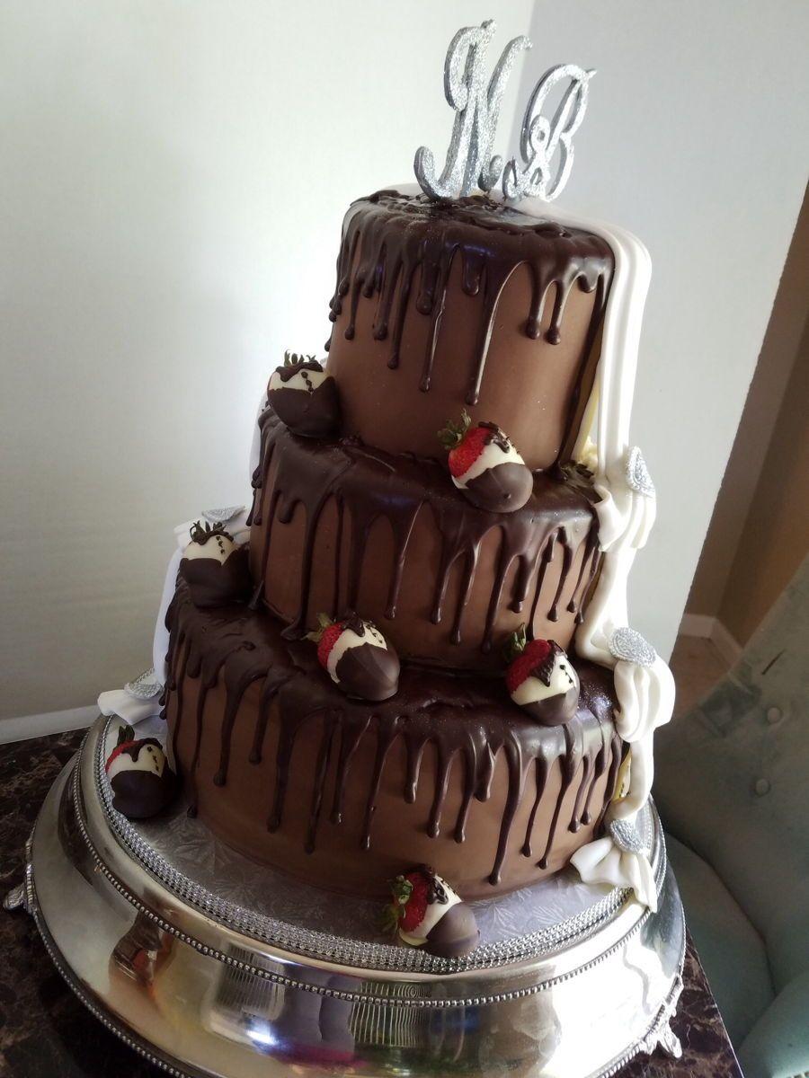 Image Result For Chocolate Fudge Wedding Cake Wedding Cakes - Fudge Wedding Cake