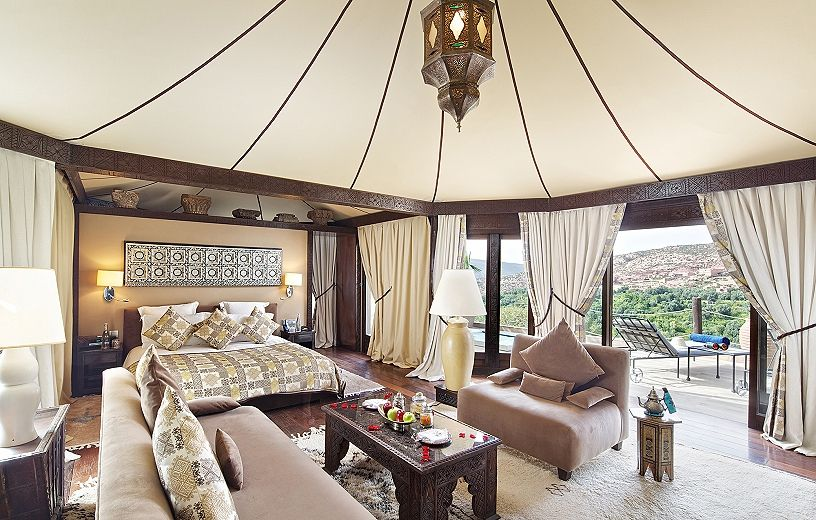 how to make a moroccan tent
