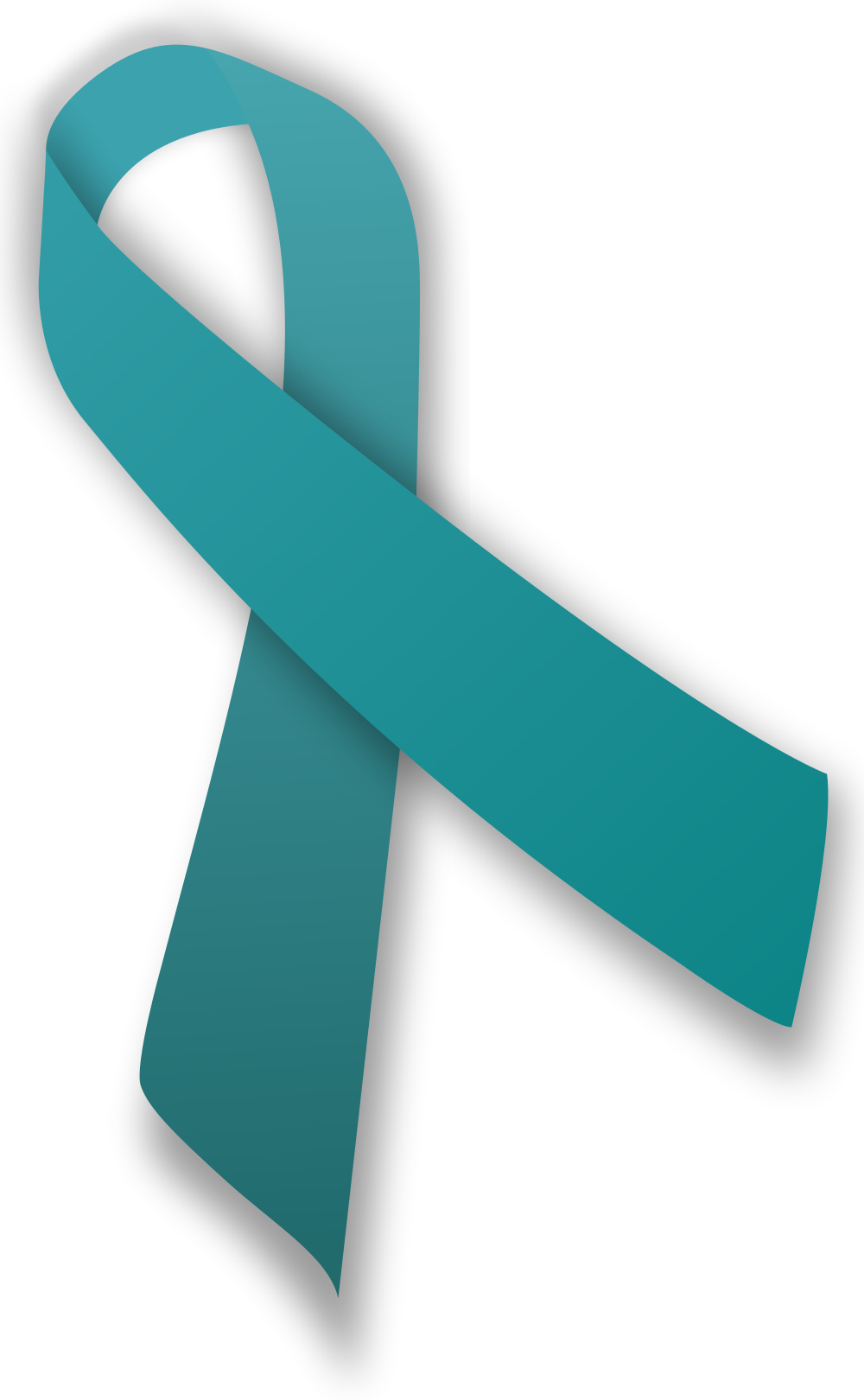 PINK AND TEAL AND PURPLE RIBBON LAPEL AWARENESS THYROID CANCER LOSS PIN