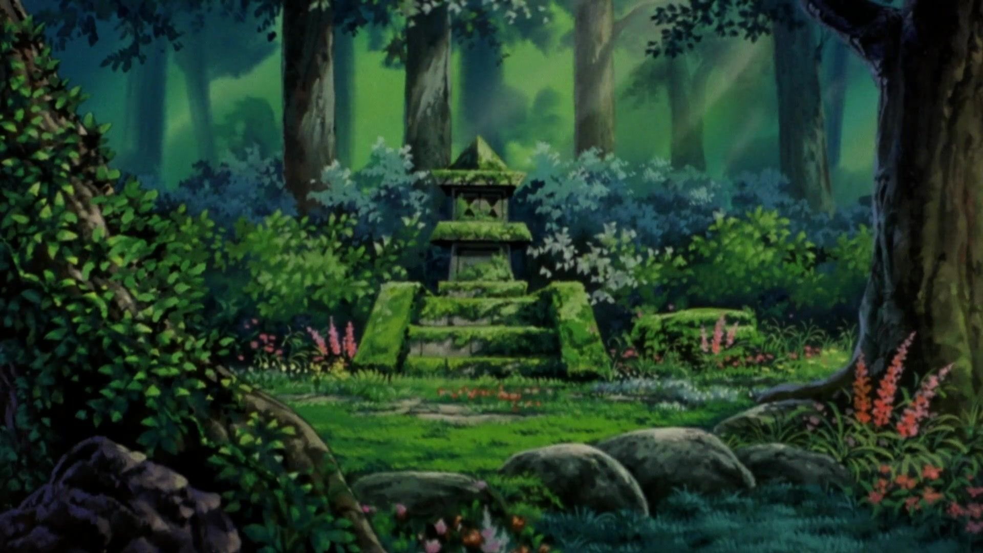 Screencap And Image For Pokemon 4ever Celebi Voice Of The Forest Fancaps Net Pokemon Inspirational Backgrounds Forest Background