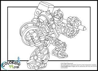 Skylanders Crusher Coloring Pages Coloring Pages Skylanders