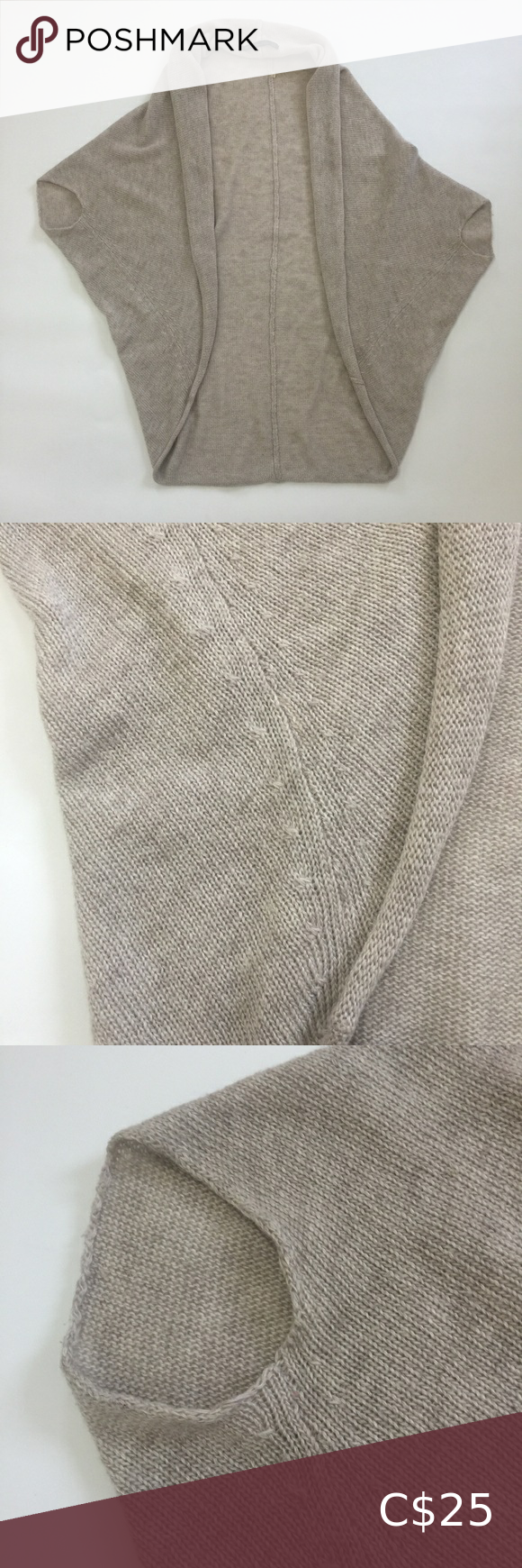 Photo of Zara Knit oversized cape like cardigan