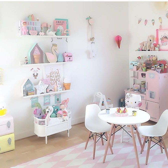 Cuarto de juegos habitaciones bonitas pinterest for Decoracion de dormitorios de ninas