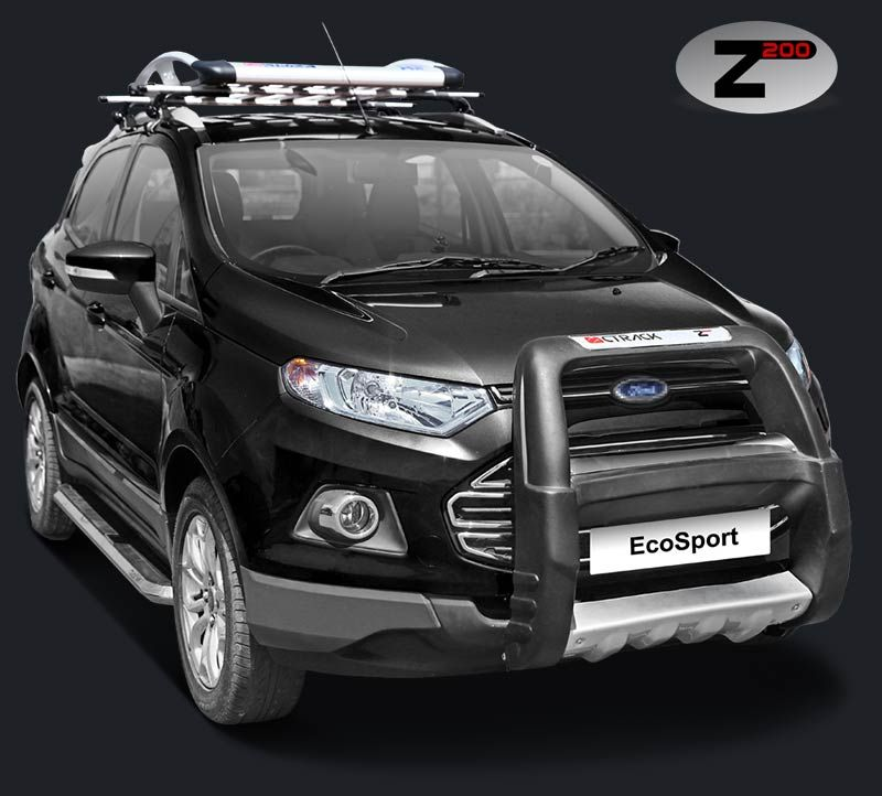 Ecosport Front Guard Ctrack Z200 Ford Ecosport Ford Bumpers