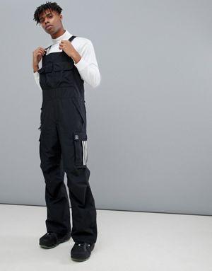 adidas Snowboarding Flanders Bib in Black the best of