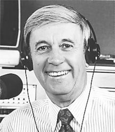 Wally Phillips WGN radio 720 AM  His voice was on our radio