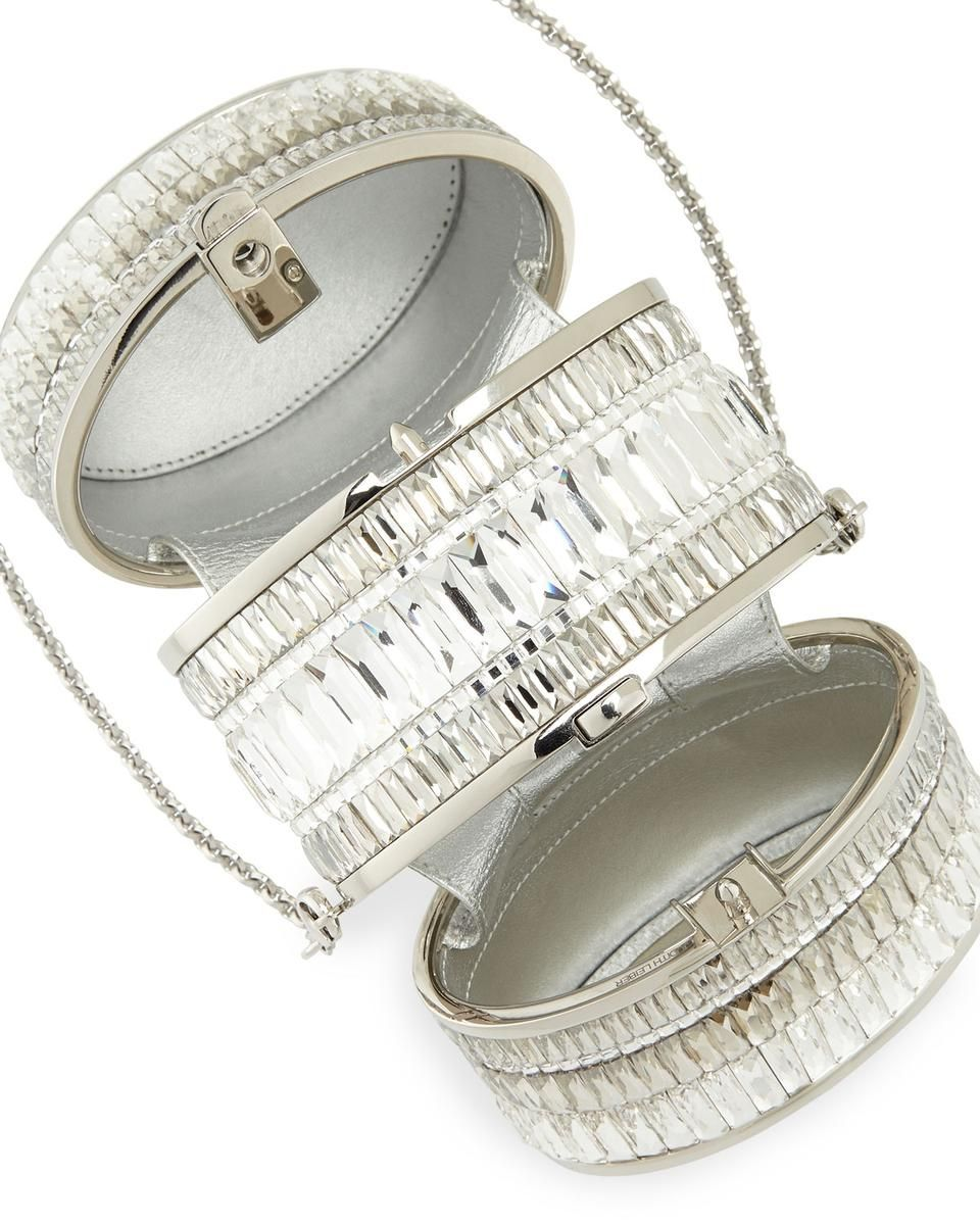 Three-Part Reflections Crystal Box Clutch for $5695 / Wantering