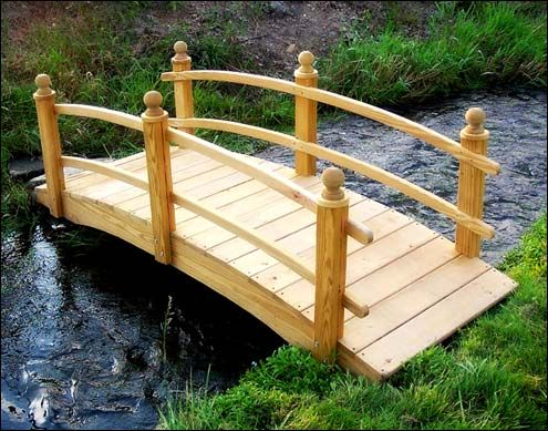 garden bridge ideas native home garden design - Japanese Wooden Garden Bridge