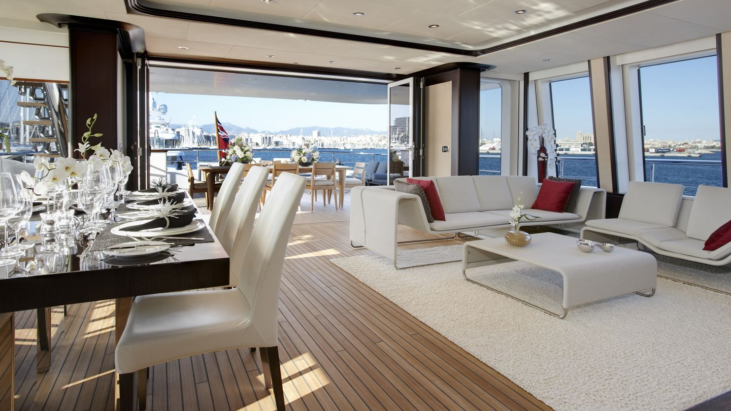 Helix Making Waves Feadship Royal Dutch Shipyards Interior Luxury Yachts Yacht