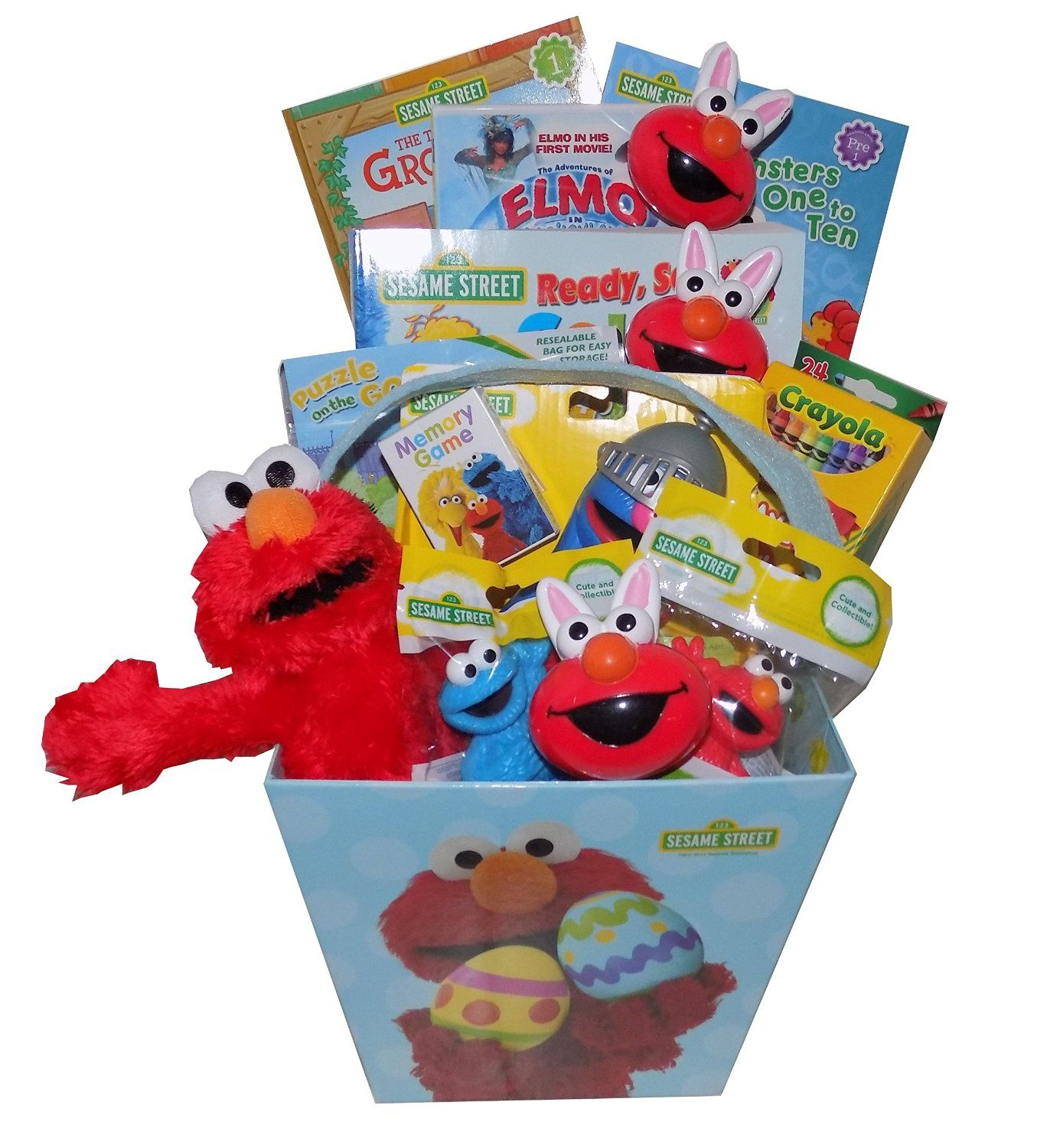 Love this sesame street easter gift basket httpamazon love this sesame street easter gift basket httpamazon negle Image collections