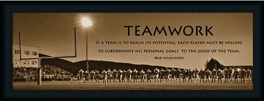Football Team Motivational Quotes: Amazon.com: Teamwork By Lori