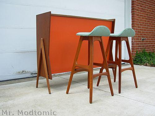 Danish Modern bar fab bar stools Mid Century Eye Candy  : ba5803b7f7e5a708572ec6b89b75a7b2 from www.pinterest.com size 500 x 375 jpeg 104kB