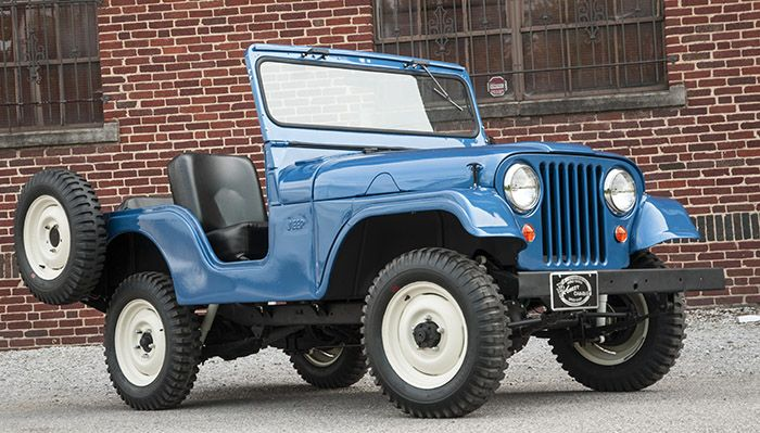 Fully Restored 1955 Willys Jeep Cj 5 Barn Find Used In The Movie