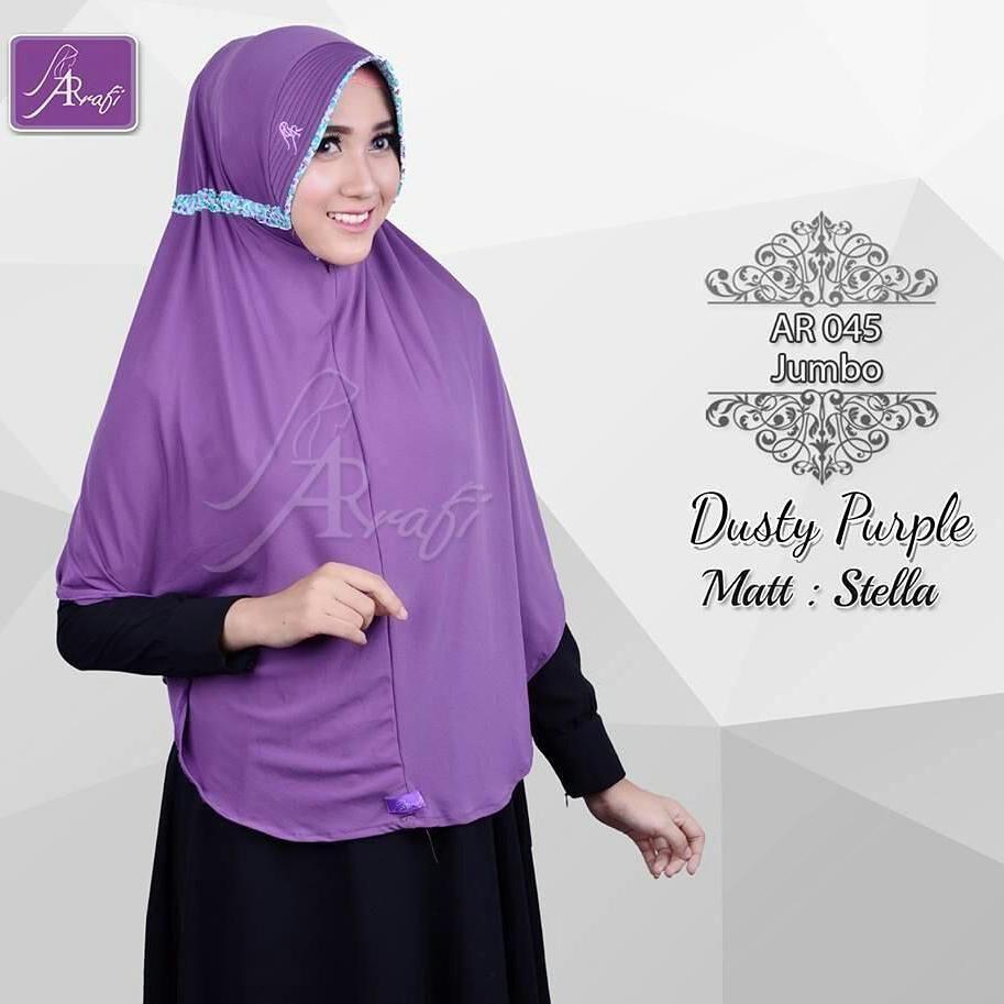 Wa 081 542 846 069 Hijab Ar Rafi Ar 045 Jumbo Matt Stella Harga