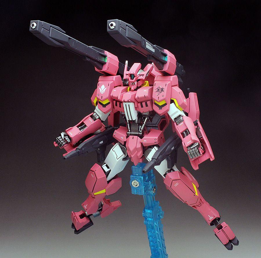 GUNDAM GUY: HG 1/144 Gundam Flauros [Ryusei-Go] - Painted Build