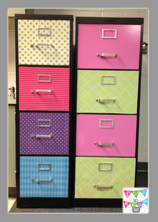 Fun in Room 4B: Repurposed Filing Cabinet-A How To Guide