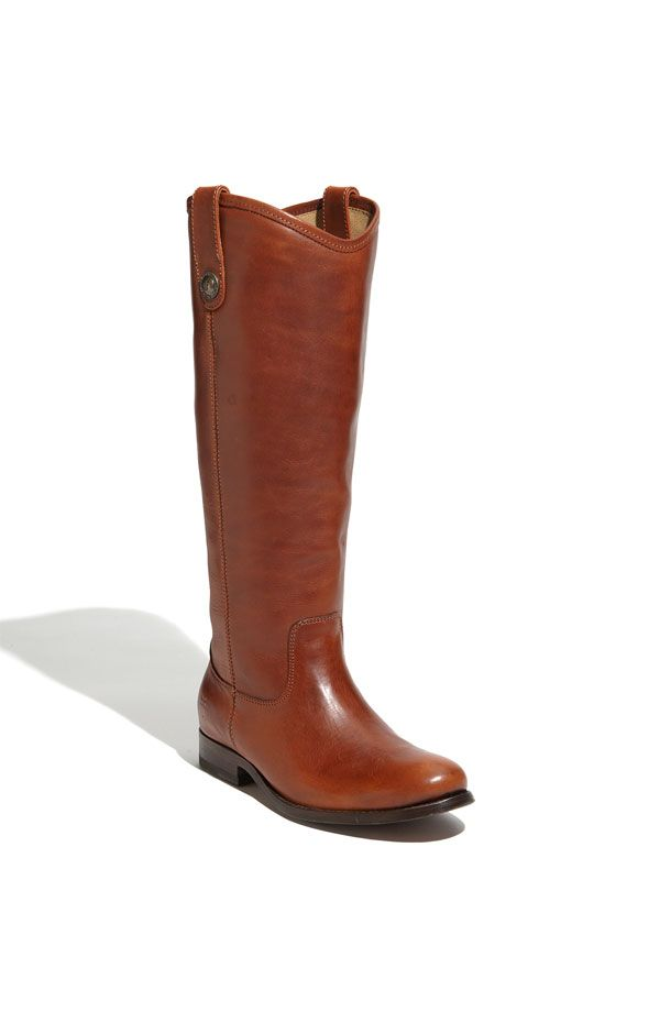 Frye 'Melissa Button' Leather Riding Boot (Wide Calf) available at