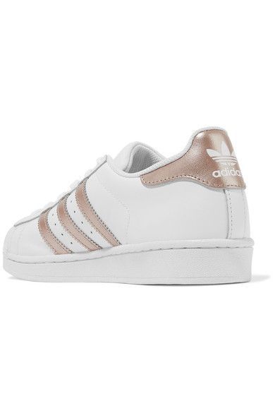 adidas trainers with rose gold front