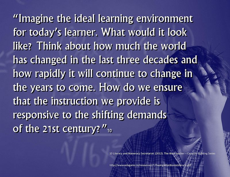 Educational Postcard: What does the ideal learning environment look like for today's student?