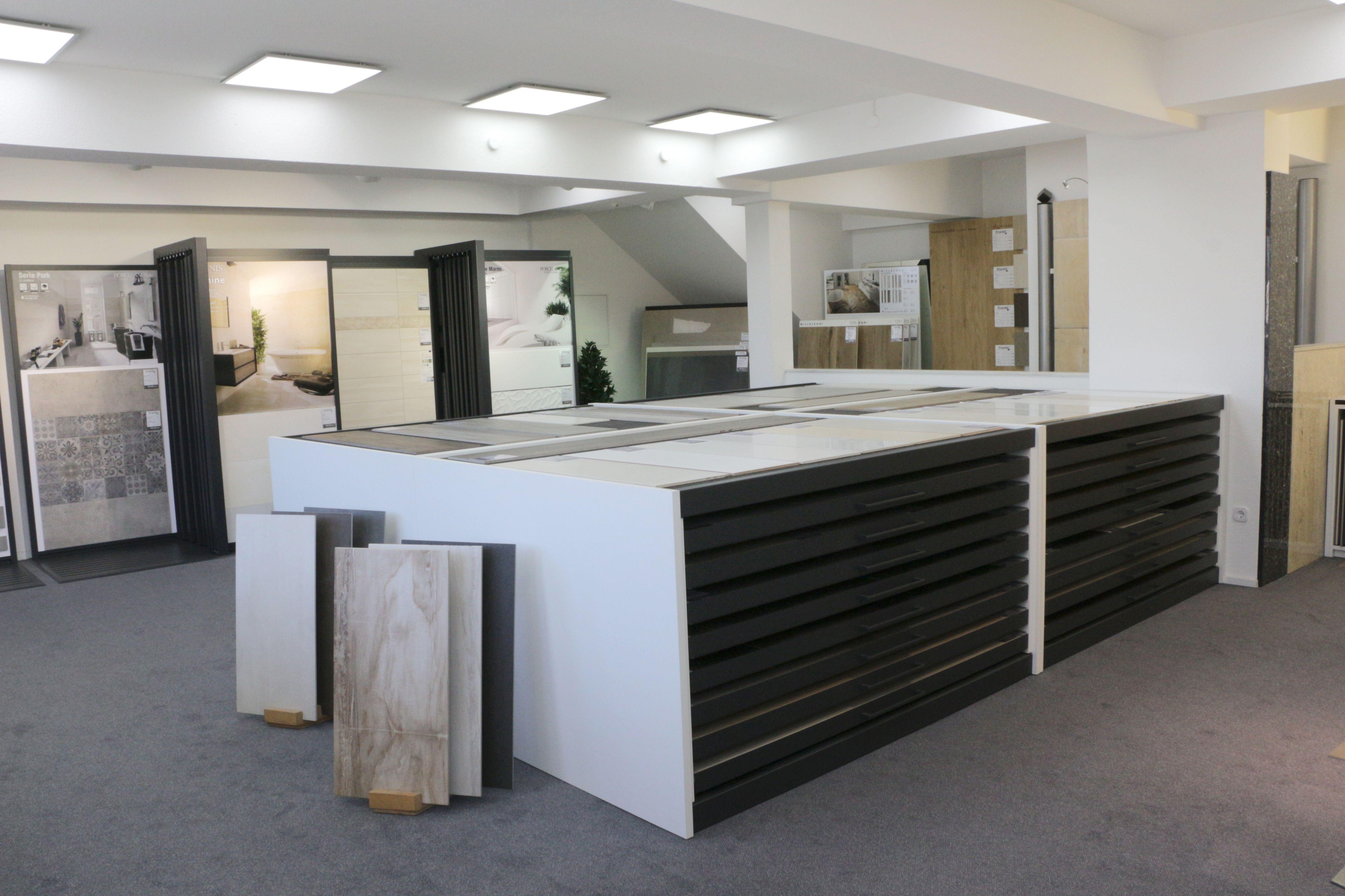 XXL-Studio - Fliesen im Großformat www.franke-raumwert.de #tiles #Fliesen #großformat