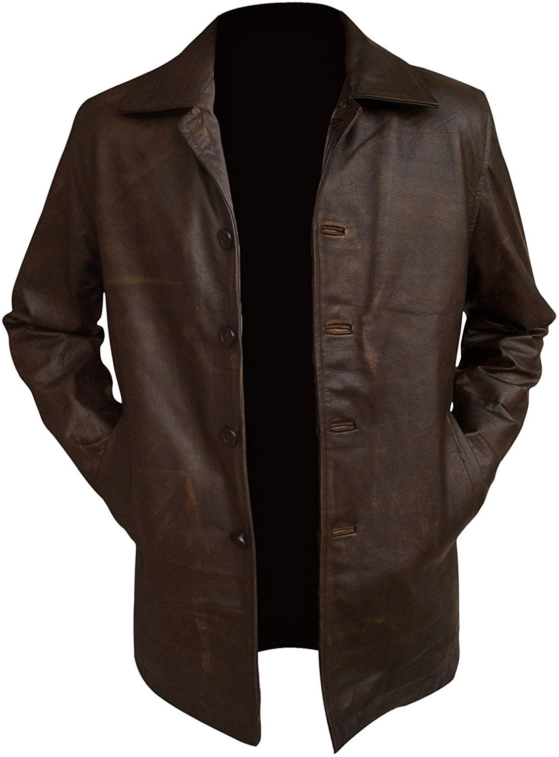 Supernatural Dean Winchester Jacket - Distressed Real Leather ▻Best Price  Offer◅ at Amazon Men s Clothing store  1b020512abd
