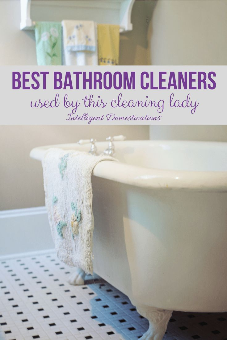 Best Cleaning Product Advice From A Pro Bathroom Cleaners - Bathroom cleaning business