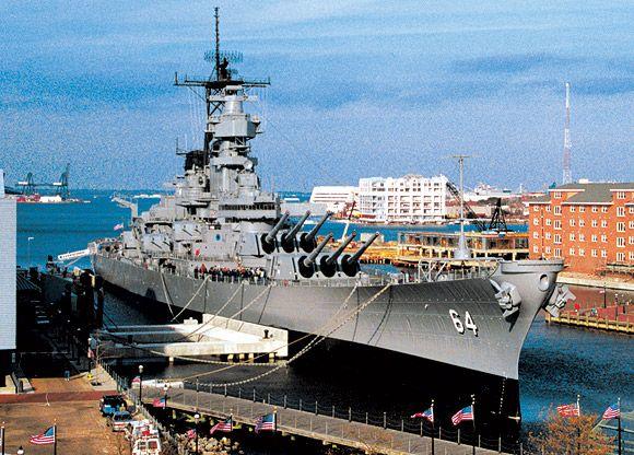 Battleship Tours Norfolk Va