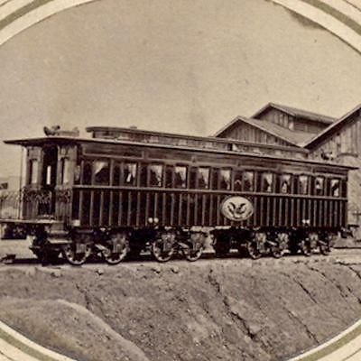 *LINCOLN'sFUNERAL TRAIN CAR~ Alexandria,VA.The funeral+burial of Lincoln inc.a series of events held to mourn his death +memorialize him,by funeral services held in WashingtonDC+then at additional locations as he was transported to his burial site in his hometown,Springfield,Ill,accompanied by dignitaries.RobertT.Lincoln rode toBaltimore disembarking+returning to theWhiteHouse. May1,1865,Robert took a train toSpringfield. Remains of Lincoln's son,Wm.WallaceLincoln, were also on the funeral…