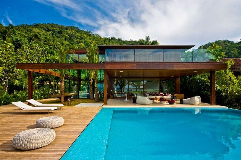 26 maisons de rêve avec piscine | villa de reve, le brésil et piscines