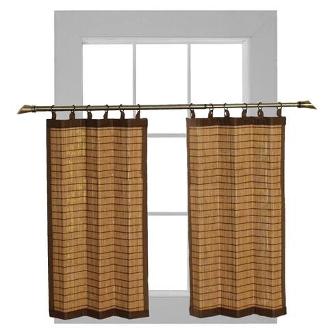 Bamboo Ring Top Curtain Target