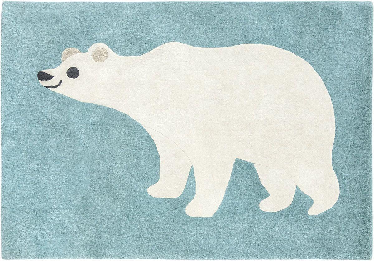 Tappeto per bambini orso polare Tappeti bambini, Orso