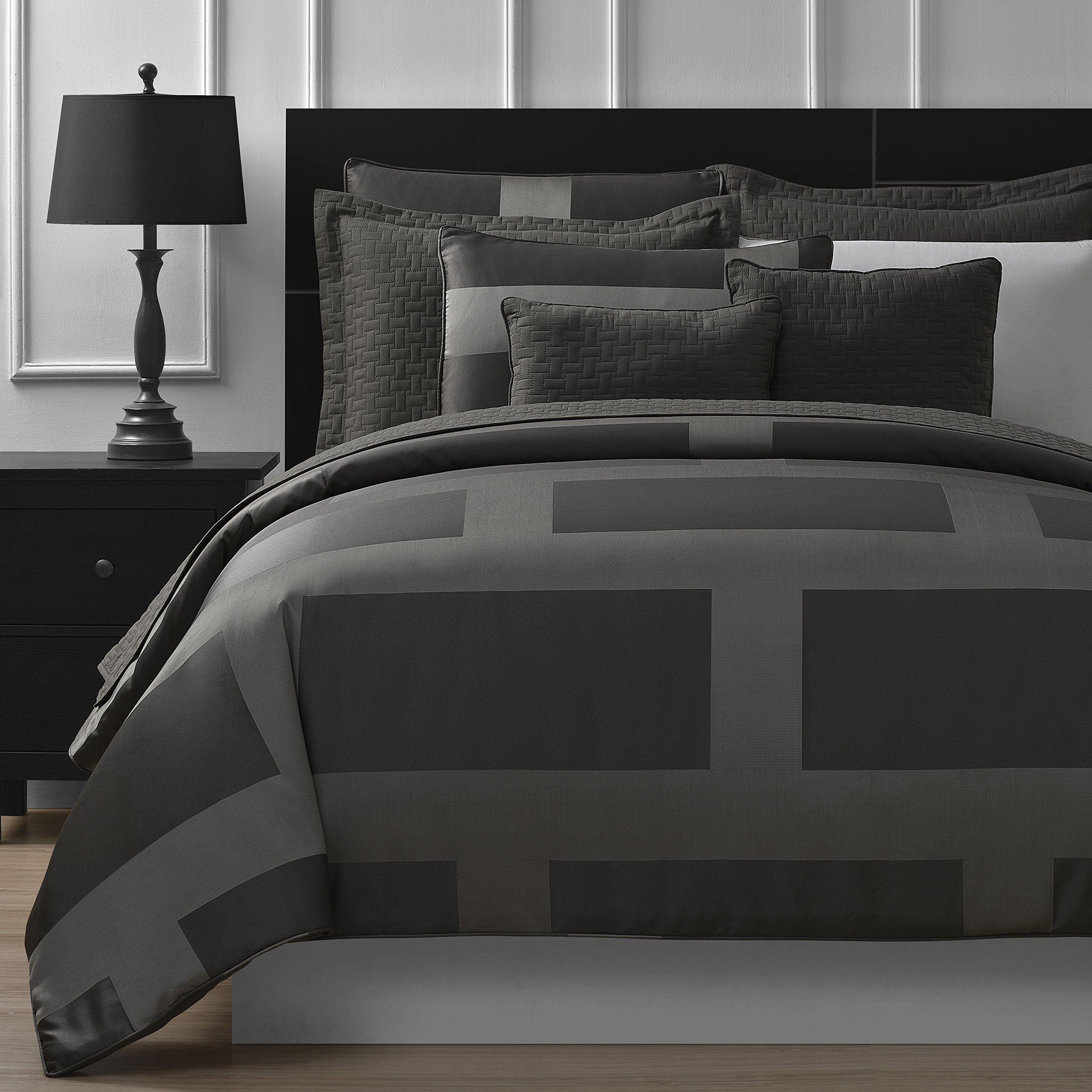 P&R Bedding Frame Jacquard Microfiber 5Piece Comforter